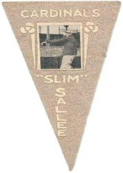 1916 Ferguson Bakery Felt Pennants BF2 #97 Slim Sallee