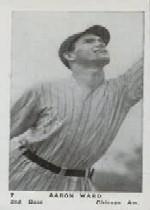 1927 American Caramel E126 #7 Aaron Ward