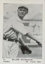 1927 American Caramel E126 #11 Allen Sothoron