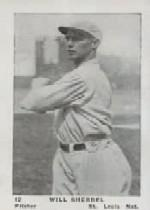 1927 American Caramel E126 #12 Will Sherdel