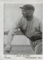 1927 American Caramel E126 #14 Jack Quinn
