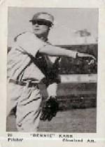 1927 American Caramel E126 #20 Bennie Karr