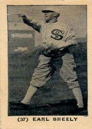 1927 York Caramel Type 1 E210 #37 Earl Sheely