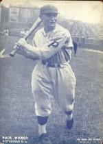 1928 Exhibits #27 Paul Waner