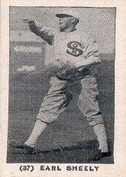 1928 W502 #37 Earl Sheely