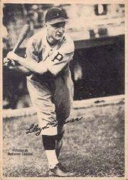 1929 Kashin Publications R316 #94 Lloyd Waner