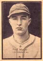 1931 W517 #34 Paul Waner
