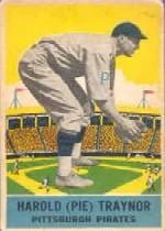 1933 DeLong #12 Pie Traynor
