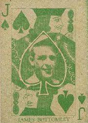 1933 Rittenhouse Candy E285 #11S Jim Bottomley