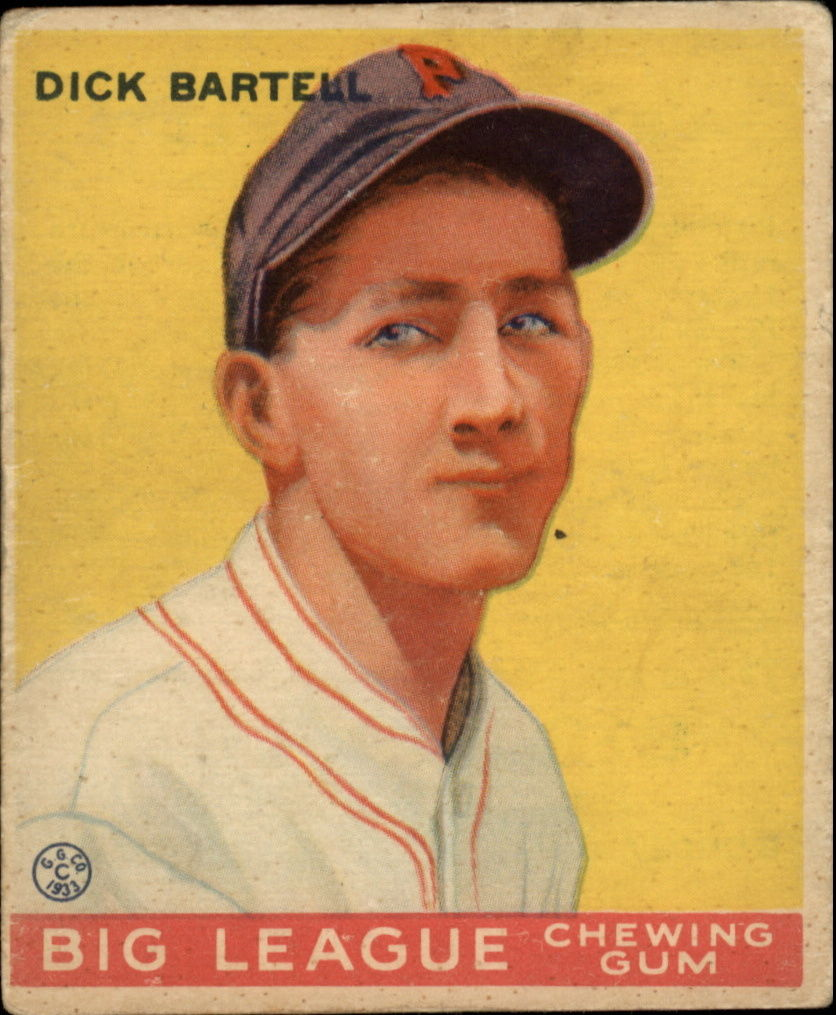 1933 Goudey #28 Dick Bartell RC