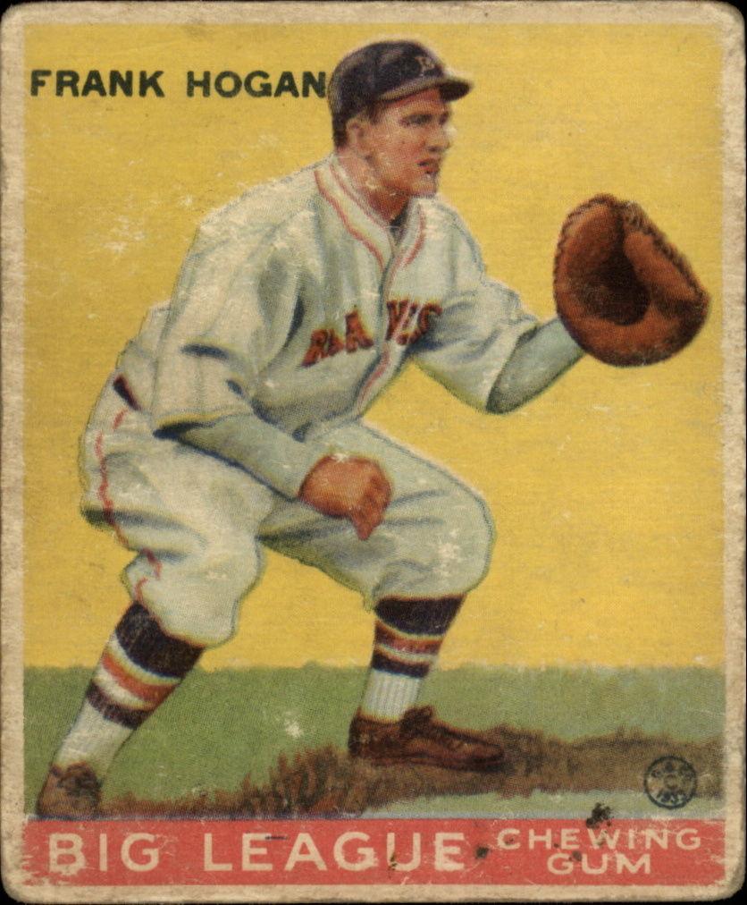 1933 Goudey #30 Frank Hogan RC
