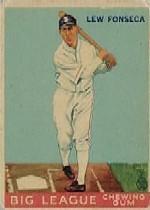 1933 Goudey #43 Lew Fonseca RC
