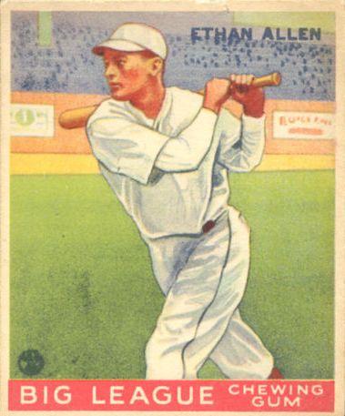 1933 Goudey #46 Ethan Allen RC