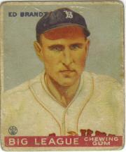 1933 Goudey #50 Ed Brandt RC