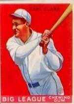 1933 Goudey #57 Earl Clark RC