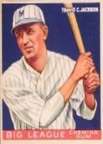 1933 Goudey #102 Travis Jackson RC
