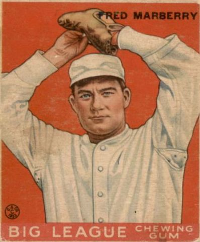 1933 Goudey #104 Fred Marberry RC