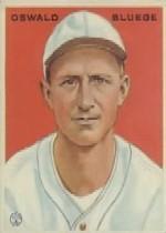 1933 Goudey #113 Oswald Bluege POR RC