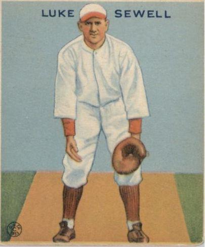 1933 Goudey #114 Luke Sewell FIELD RC