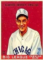 1933 Goudey #135 Woody English RC