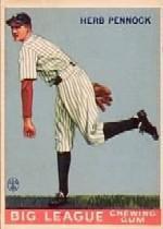 1933 Goudey #138 Herb Pennock RC