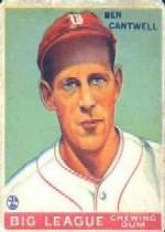1933 Goudey #139 Ben Cantwell RC