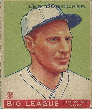 1933 Goudey #147 Leo Durocher RC