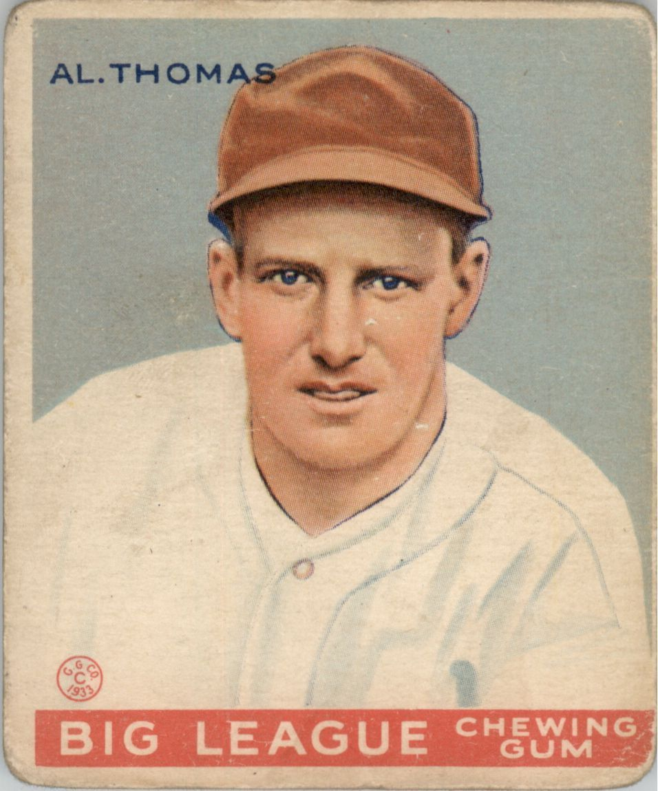 Buy Alphonse Thomas Cards Online Alphonse Thomas Baseball