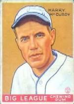 1933 Goudey #170 Harry McCurdy RC