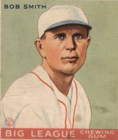 1933 Goudey #185 Bob Smith RC