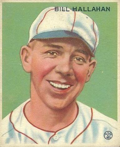 1933 Goudey #200 Bill Hallahan RC