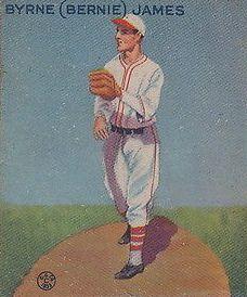 1933 Goudey #208 Bernie James RC