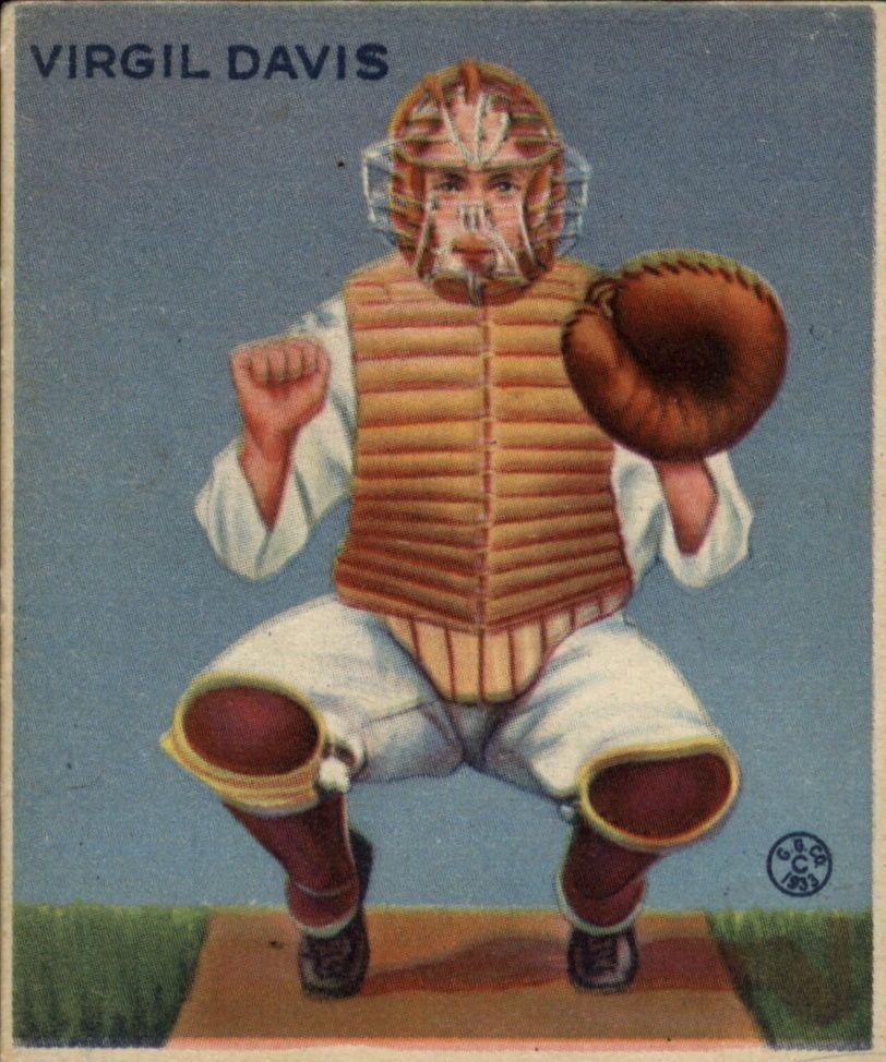 1933 Goudey #210 Spud Davis RC