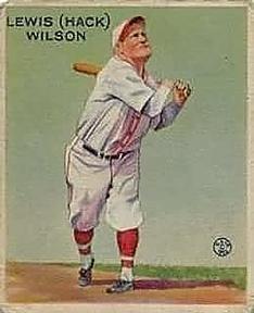 1933 Goudey #211 Hack Wilson RC