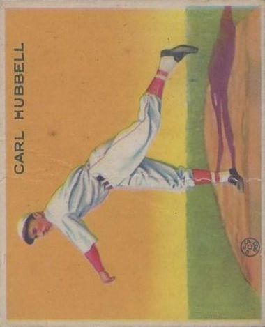 1933 Goudey #230 Carl Hubbell PIT RC