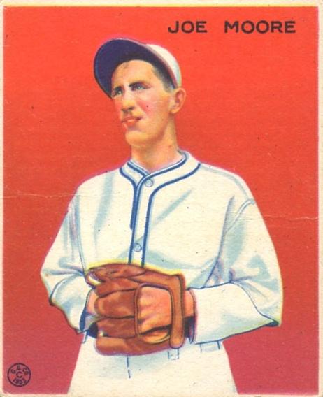 1933 Goudey #231 Joe Moore FIELD RC