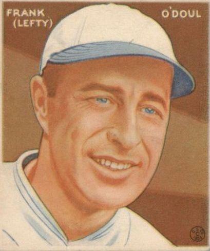 1933 Goudey #232 Lefty O'Doul RC