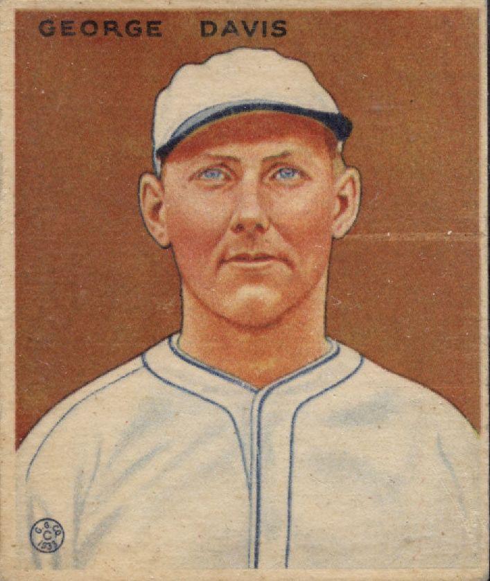1933 Goudey #236 George Davis RC