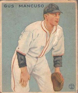 1933 Goudey #237 Gus Mancuso FIELD RC