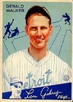 1934 Goudey #26 Gerald Walker RC