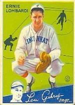 1934 Goudey #35 Ernie Lombardi RC