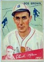 1934 Goudey #81 Bob Brown CK RC