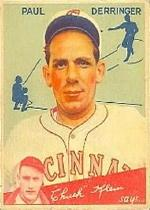 1934 Goudey #84 Paul Derringer CK RC