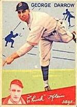 1934 Goudey #87 George Darrow CK RC