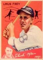 1934 Goudey #89 Linus Frey CK RC