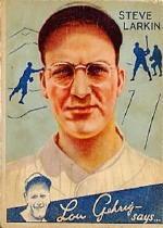 1934 Goudey #92 Steve Larkin RC