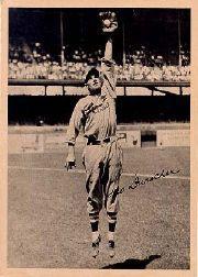 1934 Butterfinger Premiums R310 #17 Leo Durocher