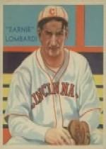 1934-36 Diamond Stars #36A Earnie Lombardi (35G)/Sic, Ernie