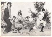 1936 National Chicle Fine Pen Premiums R313 #105 Joe DiMaggio Slams It (Erickson catching)