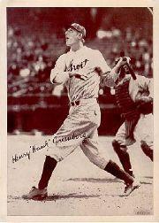 1936 R311 Premiums #G9 Hank Greenberg